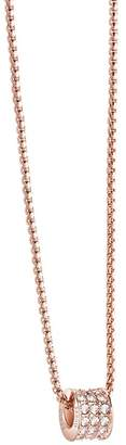 GUESS Rose Gold Plated Chain Necklace Ubn21591