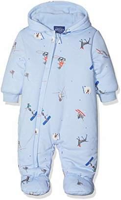 4cea45e3a5 Joules Baby Boys  Snug Snowsuit Sky Blue Ski Pup Skbpups