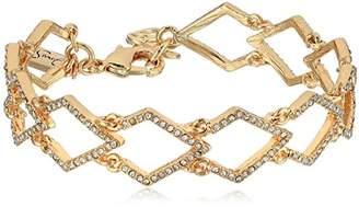 Jessica Simpson Diamond Line Bracelet