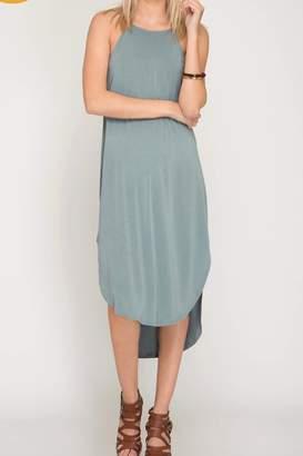 LuLu*s LuLu's Boutique Solid Tank Dress