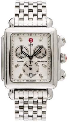 Michele Deco XL Watch