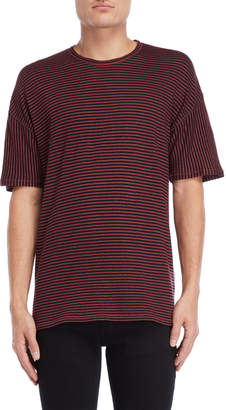 Roberto Collina Linen-Blend Striped Tee