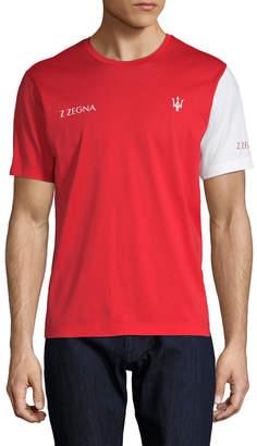 Ermenegildo Zegna Maserati Logo T-Shirt