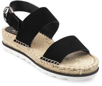 1ef2e244ec4 Marc Fisher Women s Phebe 2 Embossed Suede Espadrille Platform Sandals