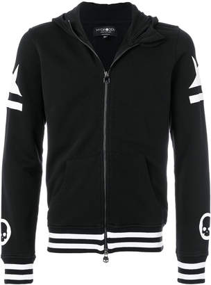 Hydrogen Skull Star zipped jacket
