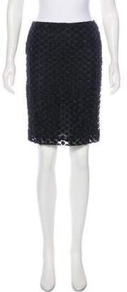 Simone Rocha Embroidered Organza Skirt