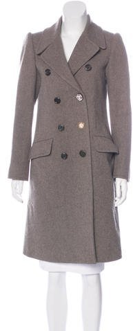 Marc Jacobs Marc Jacobs Double-Breasted Wool Coat