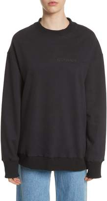 Eckhaus Latta Relaxed Fit Sweatshirt