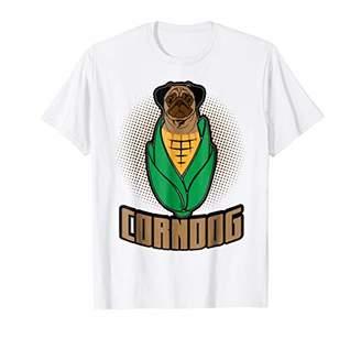 Pug Dog Shirt Farming Corn Stock Cornpug Tee T Shirt
