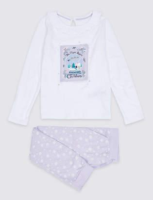Marks and Spencer Pure Cotton Pyjamas (1-7 Years)