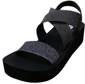 Yellow Box Womens Bunkie Open Toe Casual Platform Sandals