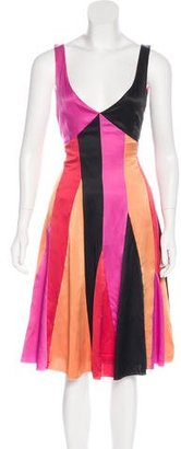 Paul Smith Silk Paneled Dress $95 thestylecure.com