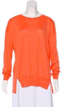 Stella McCartney Fleece Wool & Silk-Blend Sweater