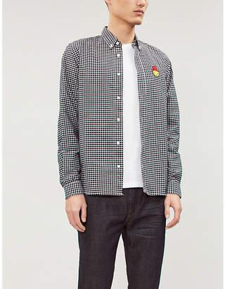 Replay Palm-tree print cotton-jersey T-shirt