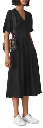 Whistles Naya Midi Dress