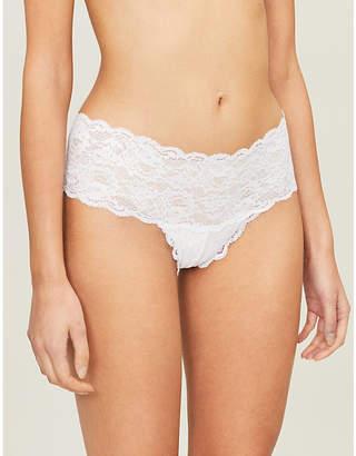 244a3ef899acd Cosabella Hottie Never Say Never stretch-lace bikini briefs