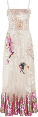 Temperley London Opera Sleeveless Crepe Dress