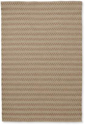 L.L. Bean L.L.Bean Indoor/Outdoor Basketweave Rug, Neutral Tweed