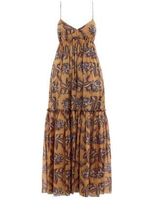 Zimmermann Castile Tiered Long Dress