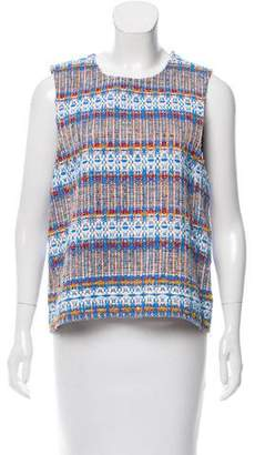 Roseanna Tweed Sleeveless Top