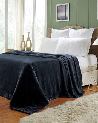 Superior Navy Fleece Blanket, King