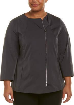 Lafayette 148 New York Plus Rashida Jacket