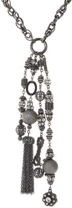 Joan Rivers Classics Collection Joan Rivers Private Collection Crystal Tassel Necklace