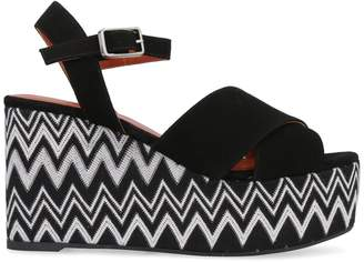 Castaner X Missoni Engie Wedges