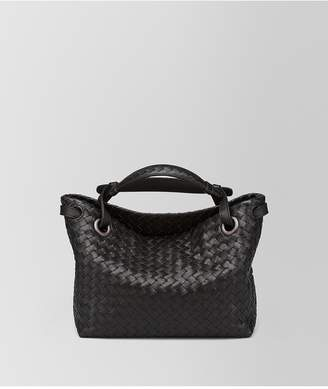Bottega Veneta Nero Intrecciato Nappa Small Garda Bag