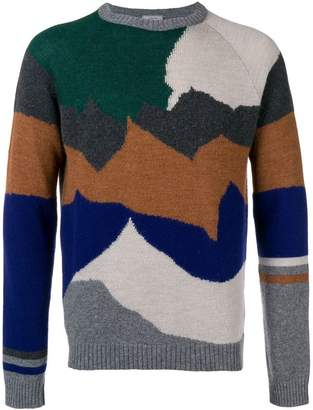 Lanvin cashmere mixed knit jumper