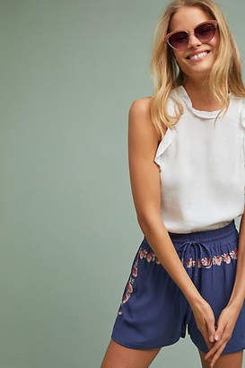 Chloé Oliver Isla Embroidered Shorts