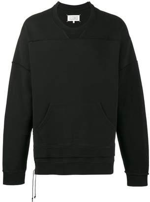 Maison Margiela deconstructed seam sweatshirt