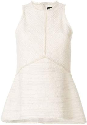 Proenza Schouler flared sleeveless top