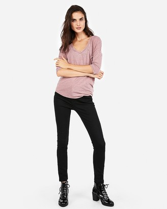 Express One Eleven Pocket Double V London Tee