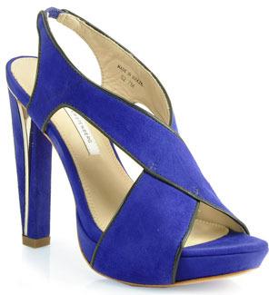 Diane von Furstenberg Julia - Suede Platform Sandal