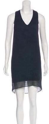 Helmut Lang Crepe Sheath Dress