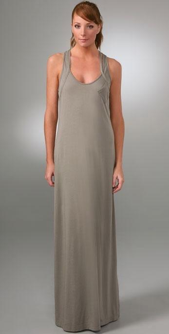 Splendid Mini Pocket Long Dress