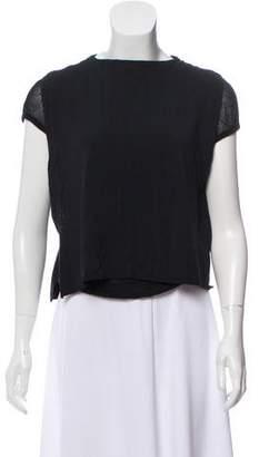 Versace Knit Cap-SleeveTop