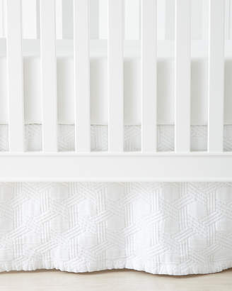 Serena & Lily Cayman Matelasse Crib Skirt