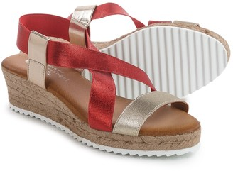 Eric Michael Sarah Wedge Sandals (For Women) $34.99 thestylecure.com