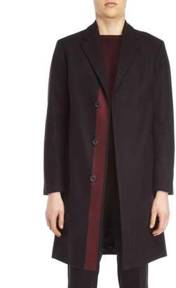 American Designer Black Bower Stripe Top Coat