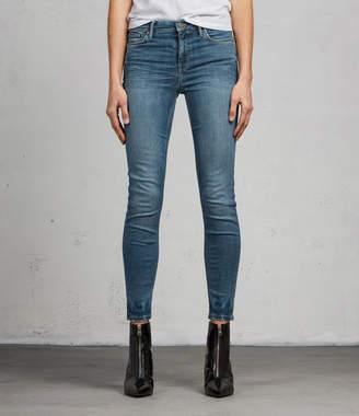 AllSaints Grace Ankle Skinny Jeans