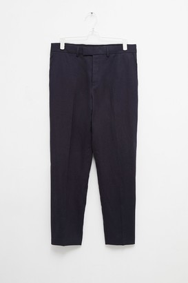 Slim Fit Linen Suit Trouser