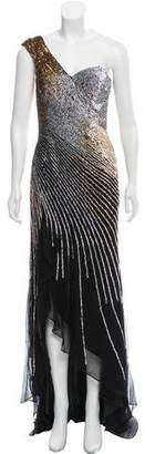 Terani Couture Couture Embellished Evening Dress w/ Tags
