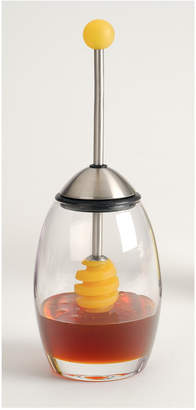rsvp Honey Jar With Silicone Dipper