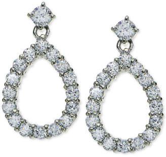 Giani Bernini Cubic Zirconia Open Teardrop Drop Earrings in 18k Gold-Plated Sterling Silver, Created for Macy's