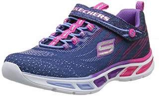 Skechers Girls' Litebeams Low-Top Sneakers,36 EU