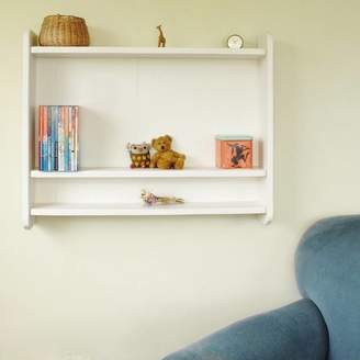 Seagirl and Magpie Children's Handcrafted Bookcase Shelving Unit
