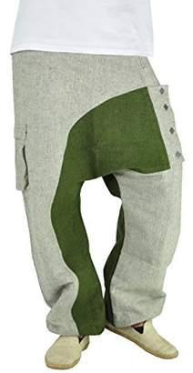 virblatt Men's Harem Jeans Drop Crotch Pants for Men (Size M –XL) – Kopfkino