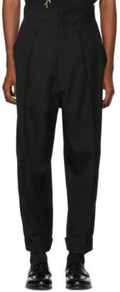 Haider Ackermann Black Calder Trousers